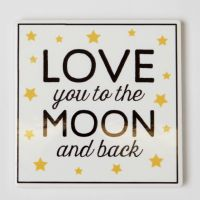 SASS & BELLE - LOVE YOU TO THE MOON AND BACK COASTER